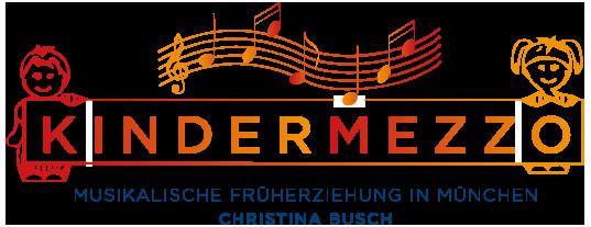 Kindermezzo - Musikalische Früherziehung in Kindergärten und musikalische Kinderbetreuung auf Hochzeiten in und um München Logo